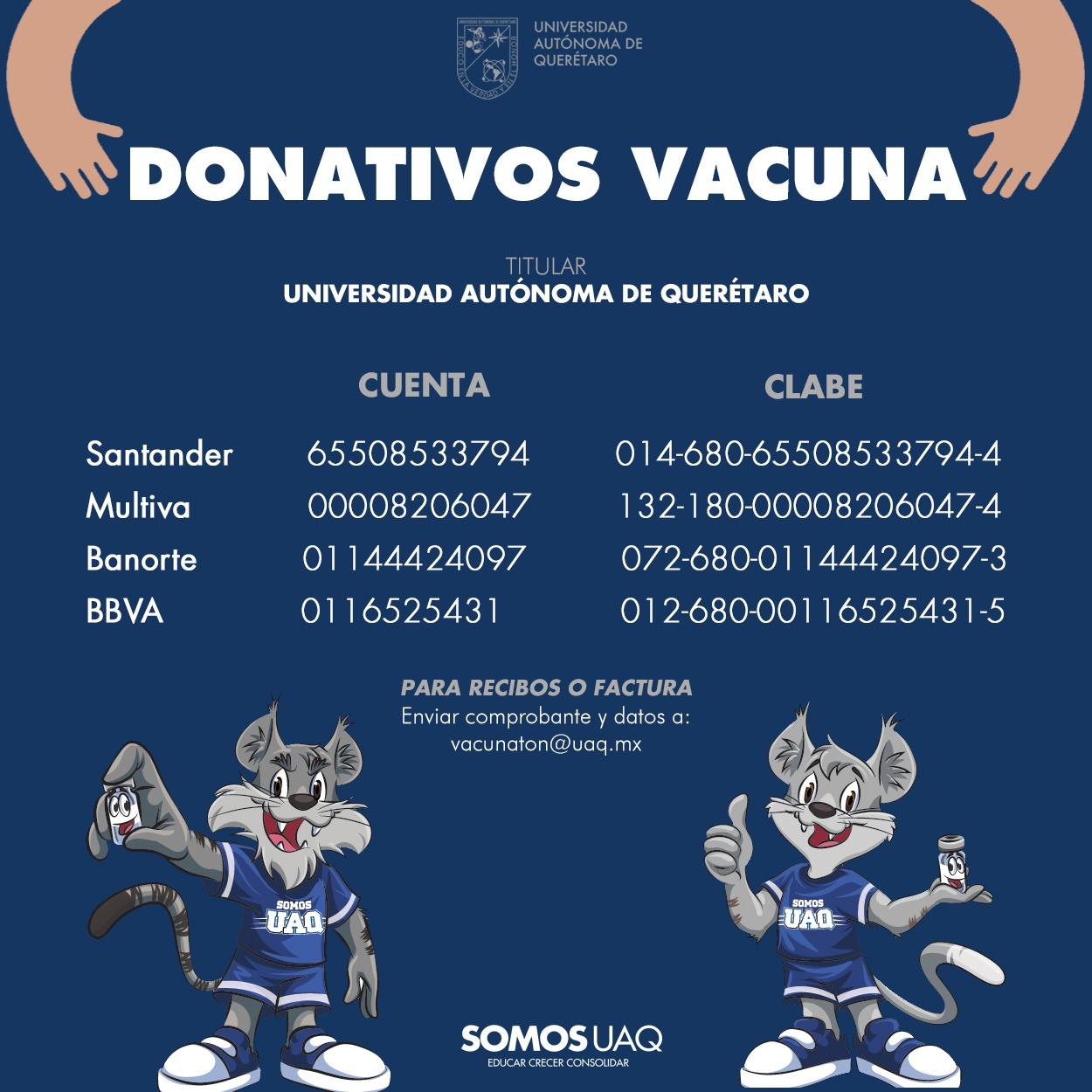 donativos vacuna